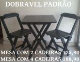 Conjunto Dobravel Modelo Padrão com 2 cadeiras - Cod: 1050752